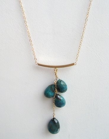 Chrysacola Curve Necklace1 Lo-Res_IMG_4768