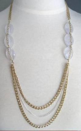 Lavender necklace